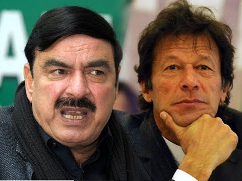 Imran Khan and Sheikh Rasheed Fighting in a Live Show