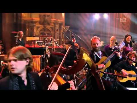Sting A Winter's Night Live From Durham Cathedral2009 | I saw three ships