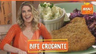 Bife à Milanesa Sequinho E Crocante  Rita Lobo  Cozinha Prática