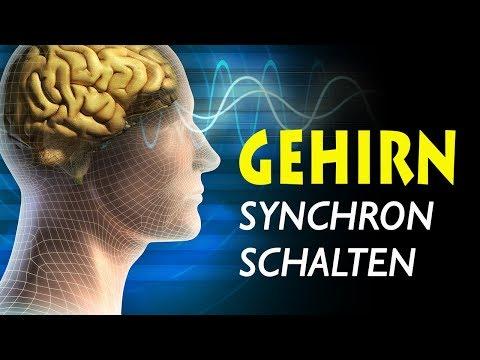 Gehirnhälften synchronisieren mit