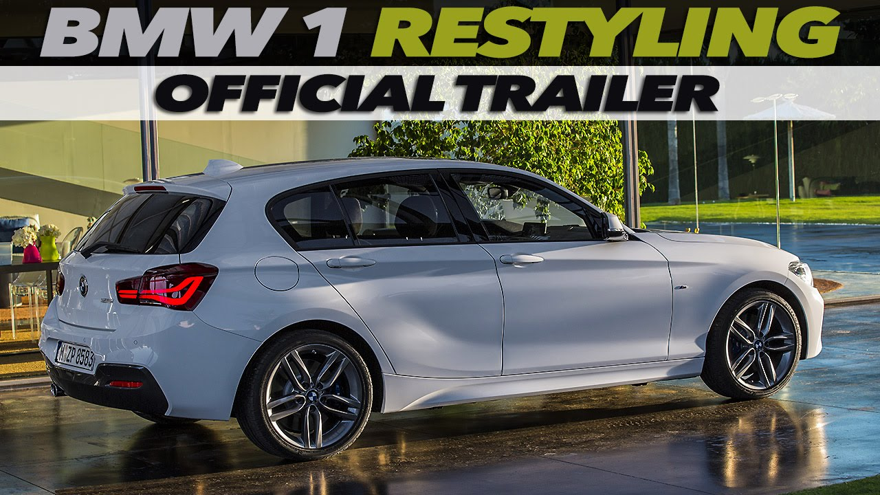 NEW BMW Series RESTYLING OFFICIAL TRAILER YouTube - 2015 new bmw