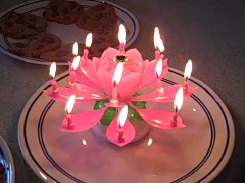 Musical Birthday Candle Youtube