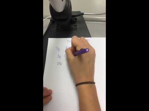 Math Unit 2, Lesson 1: Changing a Decimal to a Fraction