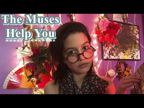 ASMR~ The Muses Take Care of You (keyboard sounds + paper sounds)