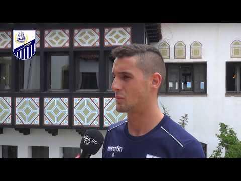 O Χριστόφορος Καραγιάννης στο Lamia FC TV (συνέντευξη)