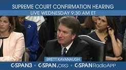 Confirmation hearing for Supreme Court nominee Judge Brett Kavanaugh (Day 2)