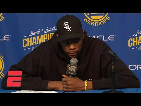 Kevin Durant heated with media on free agency rumors: 'I don't trust none of y'all' | NBA Sound