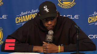 Kevin Durant heated with media on free agency rumors: 'I don
