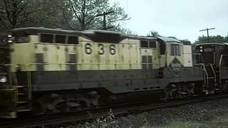 Railfanning with the Bednars Volume 6 - The Beginning of Conrail