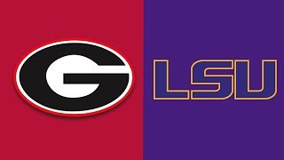 Week 7 2018 #2 Georgia vs #13 LSU Full Game Highlights