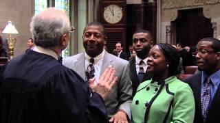 Senator James Sanders swear in - 1/9/13