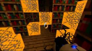 Minecraft in portal 4