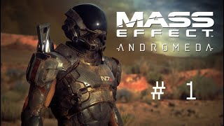 Mass Effect Andromeda walk through (part - 1)