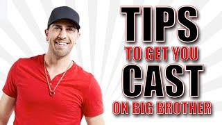Bruno shares Tips to help get cast on Big Brother