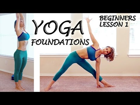 Better Body Beginners Yoga Foundations Class #1 - Basic Home Yoga Workout Courtney Bell
