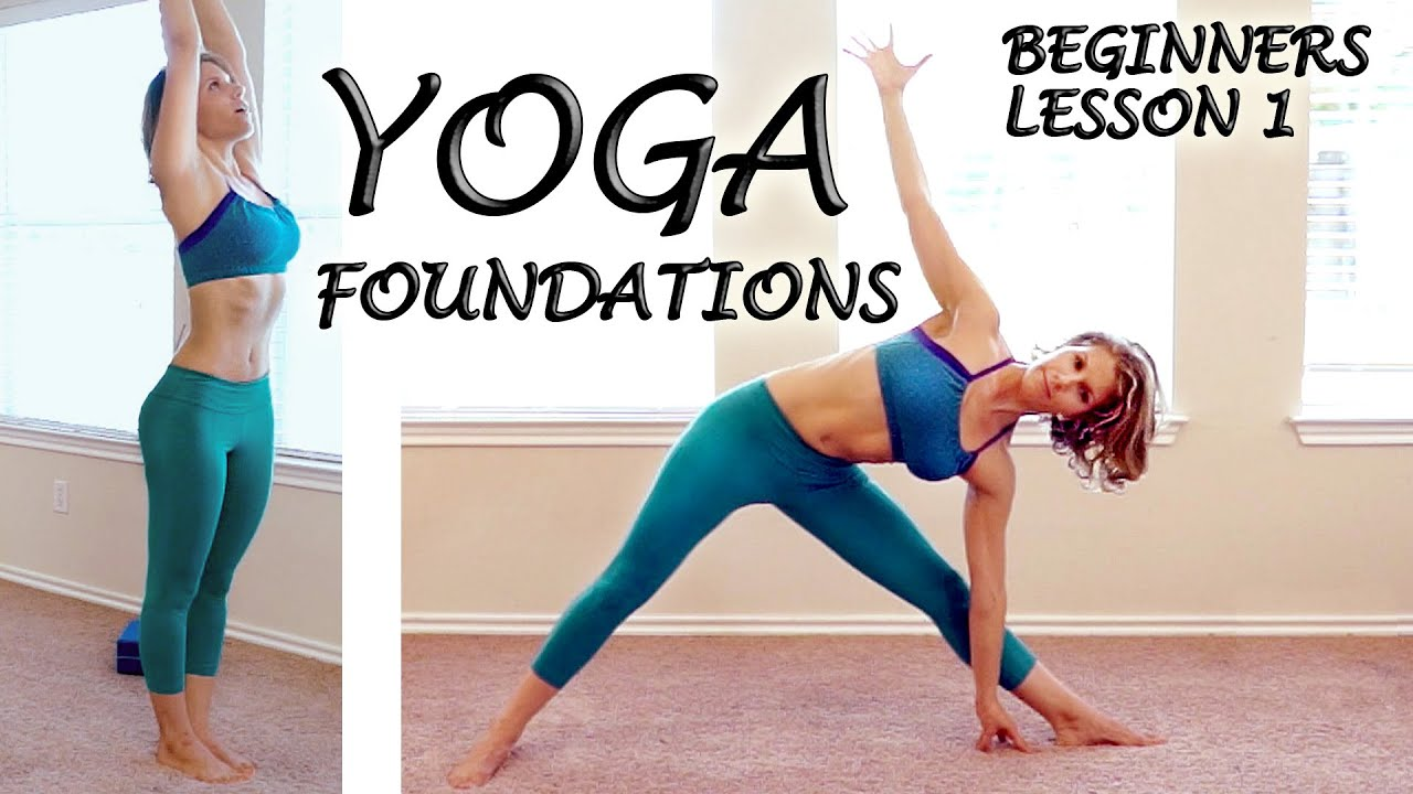 Better Body Beginners Yoga Foundations Class 1 Basic Home Yoga Workout Courtney Bell Youtube