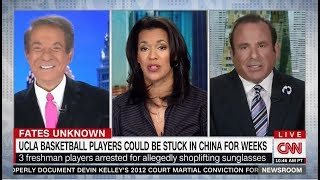 CNN - Avery Friedman on UCLA players arrested in China