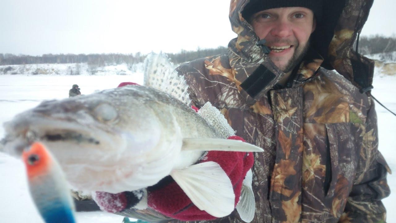 Зимняя рыбалка на усе
