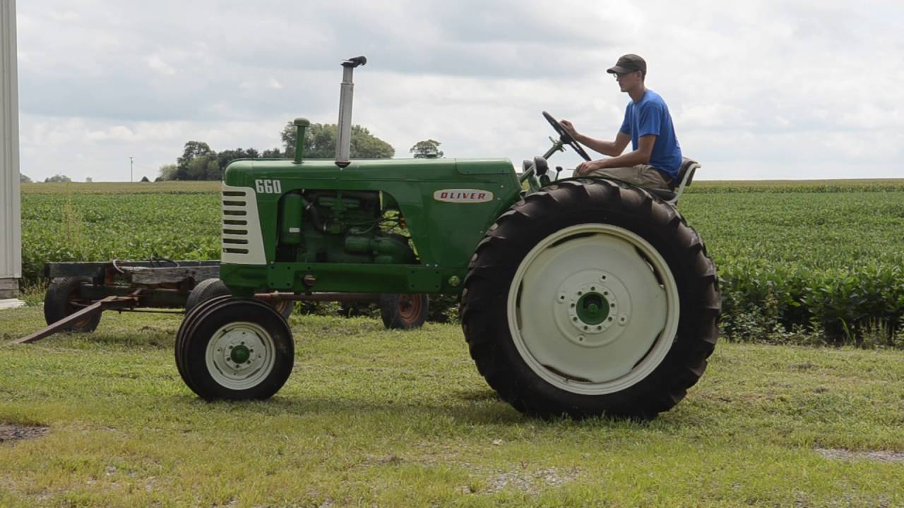 oliver 660 gas row crop youtube Oliver Tractor Parts oliver 660 gas row crop