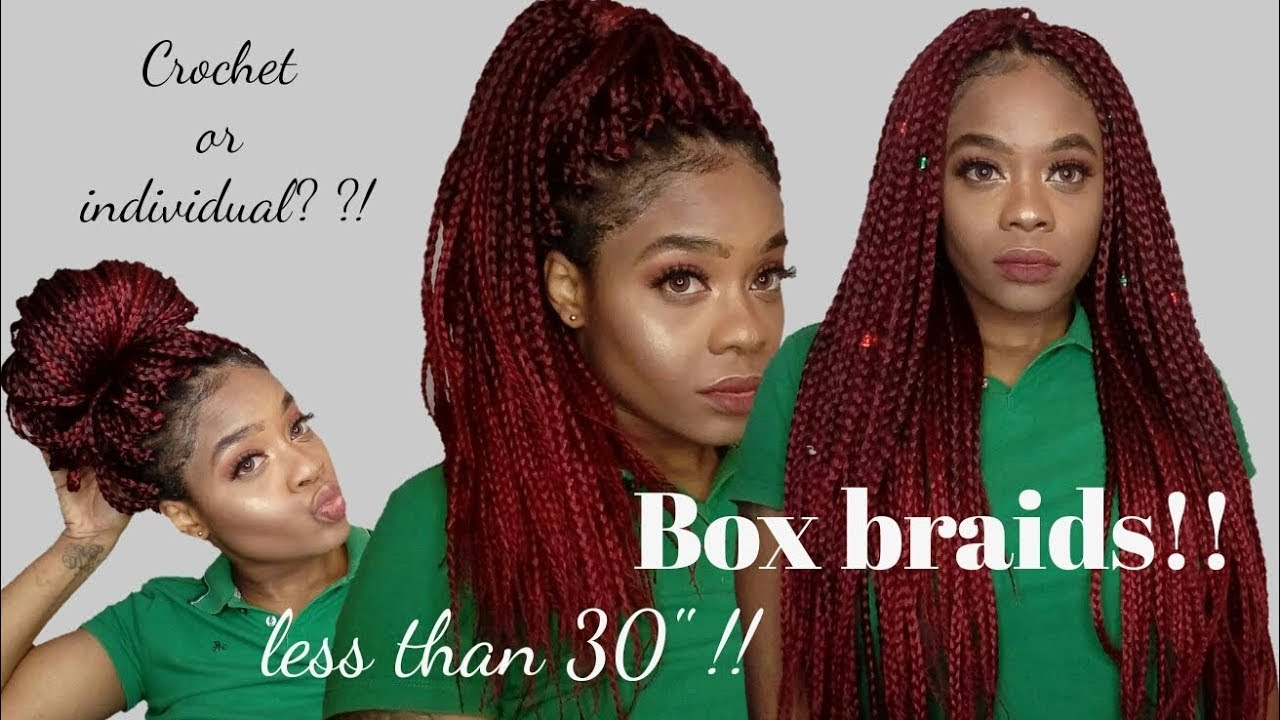 How To Poetic Justice Braids On Short Natural Hair Diy Crochet