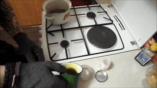 Пропитка для древесины своими руками! Льняное масло + пчелиный воск.