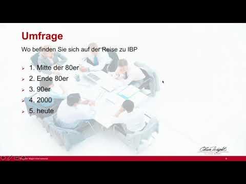 Zum Übergang von S&OP zu Integrated Business Planning (Integrierte Unternehmensplanung – IBP)