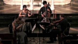 Attacca Quartet plays Haydn Op. 50 no. 1 - Third Movement