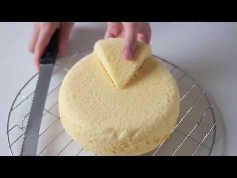 Cách làm BÁNH BÔNG LAN CƠ BẢN với nồi cơm điện - Basic Sponge cake recipe (made with a rice cooker)