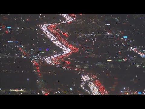 See America's Worst Traffic Jam Ahead of Holiday Weekend