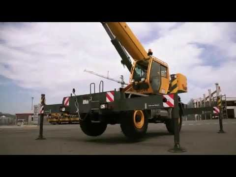 Grove RT550E - The most innovative 45 ton rough-terrain crane