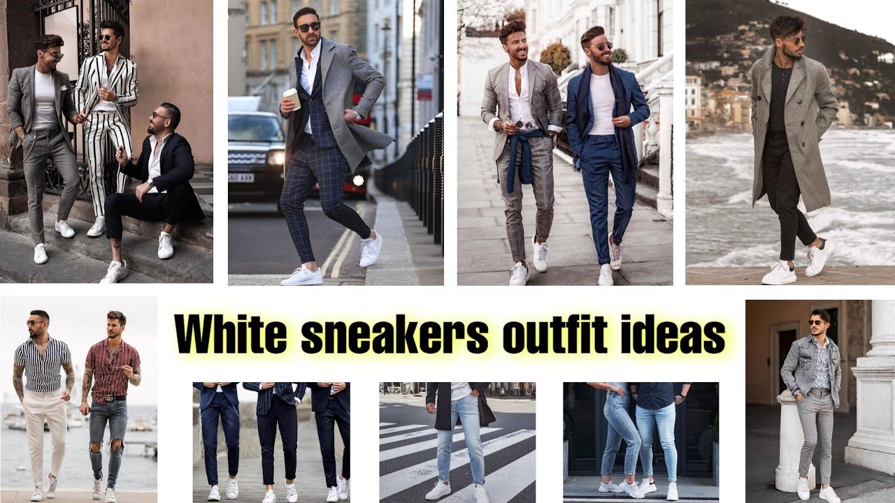 White sneakers outfit ideas 🔥 80 Ways to Style White Sneakers 🔥