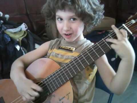 5 yr old guitar master // Frano