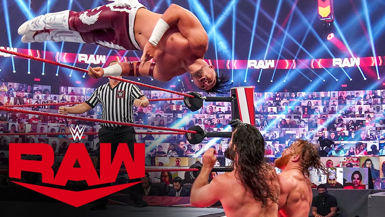 Dominik Mysterio & Humberto Carrillo vs. Seth Rollins & Murphy: Raw, Oct. 5, 2020