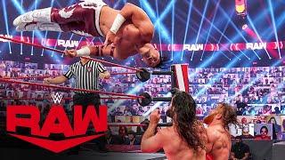 Dominik Mysterio \u0026 Humberto Carrillo vs. Seth Rollins \u0026 Murphy Raw, Oct. 5, 2020