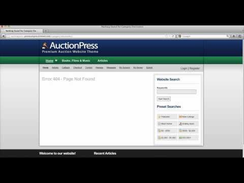 How To Install Auctionpress And Start Auction Website ? [Premiumpress]