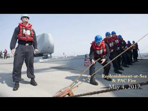 USS ROSS (DDG 71) in Review - 0422-0518 HD