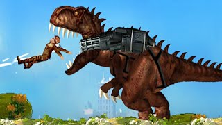 Mexico Rex Gameplay Walkthrough - Dino Eat Human Car Crash