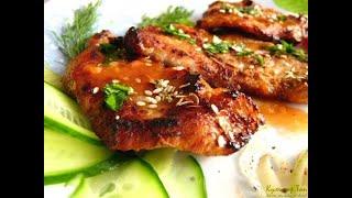 Свинина в медово-соевом соусе: рецепты от Алейки