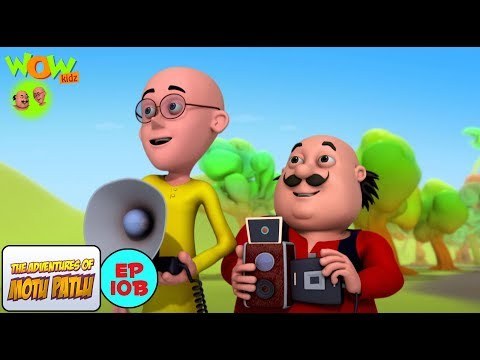 Photography Competition - Motu Patlu in Hindi - 3D Animation Cartoon for Kids -As on Nickelodeon thumbnail