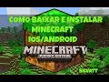 Minecraft PE - Download gratuito IOS/ANDROID (2018)
