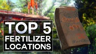 Fallout 4 - Top 5 Fertilizer Locations