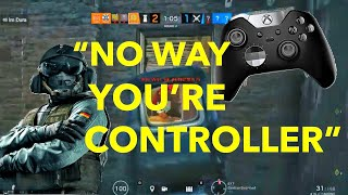 """There's No Way You're Controller"" - R6 Console Ranked/League Highlights"