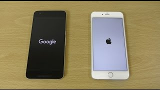 Nexus 6P Android N DP3 vs iPhone 6S Plus - Which is Fastest?