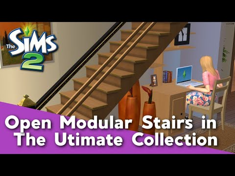 The Sims 2 Tutorial: Open Modular Stairs with the Ultimate Collection thumbnail