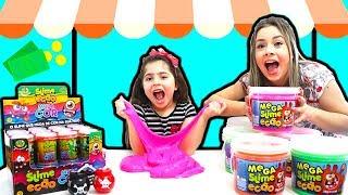 LOJINHA DE SLIME DA HELO! Pretend Play Slime Shop