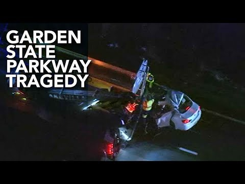 4 killed in Garden State Parkway crash in Berkeley Township, Ocean County, New Jersey