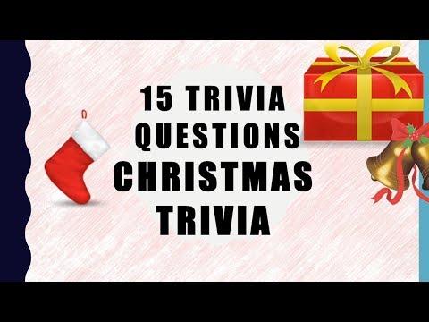 15 Christmas Trivia Questions