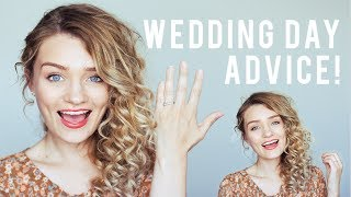THINGS I WISH I HAD KNOWN BEFORE MY WEDDING DAY!