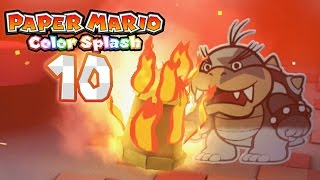 Paper Mario: Color Splash - Part 10: Saving The Red Big Paint Star! (Morton Boss Battle)