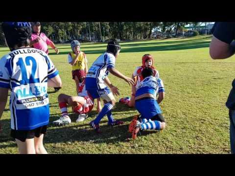 U10's South Perth Lions vs Kalamunda Bulldogs pt 1       25 06 2017
